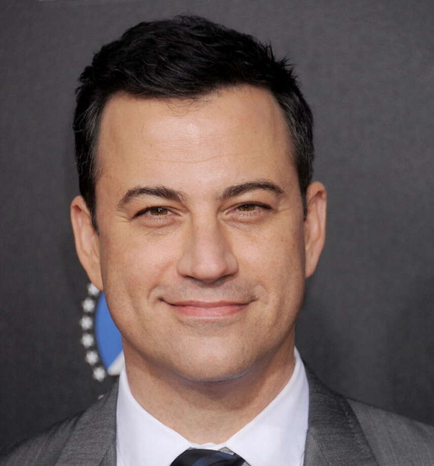 Jimmy Kimmel arrives at the 2nd Annual Rebel With A Cause Gala at Paramount Studios on March 20, 2014 in Hollywood, California.  (Photo by Gregg DeGuire/WireImage) Photo: Gregg DeGuire, WireImage / 2014 Gregg DeGuire