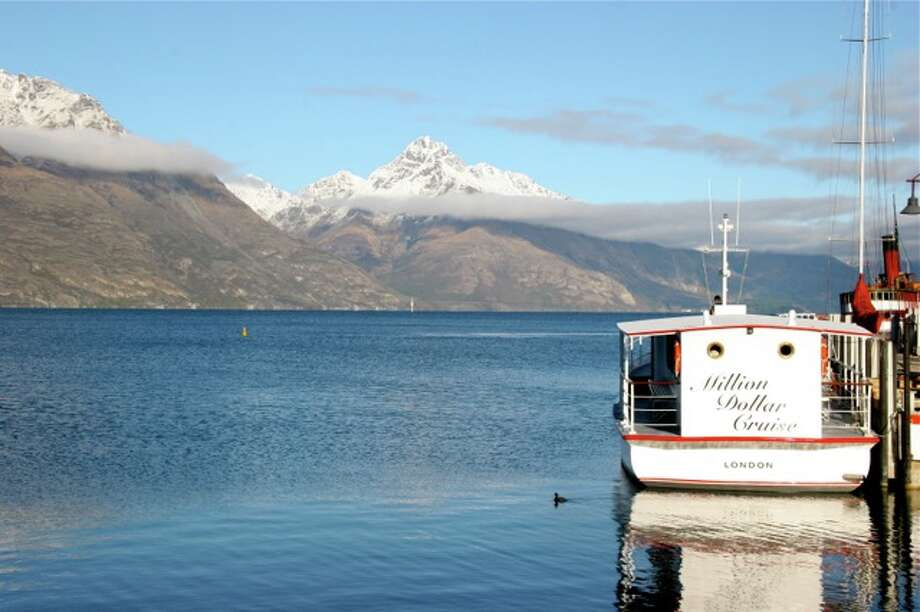 The Remarkables from Lake Wakitipu Photo: Effin Older