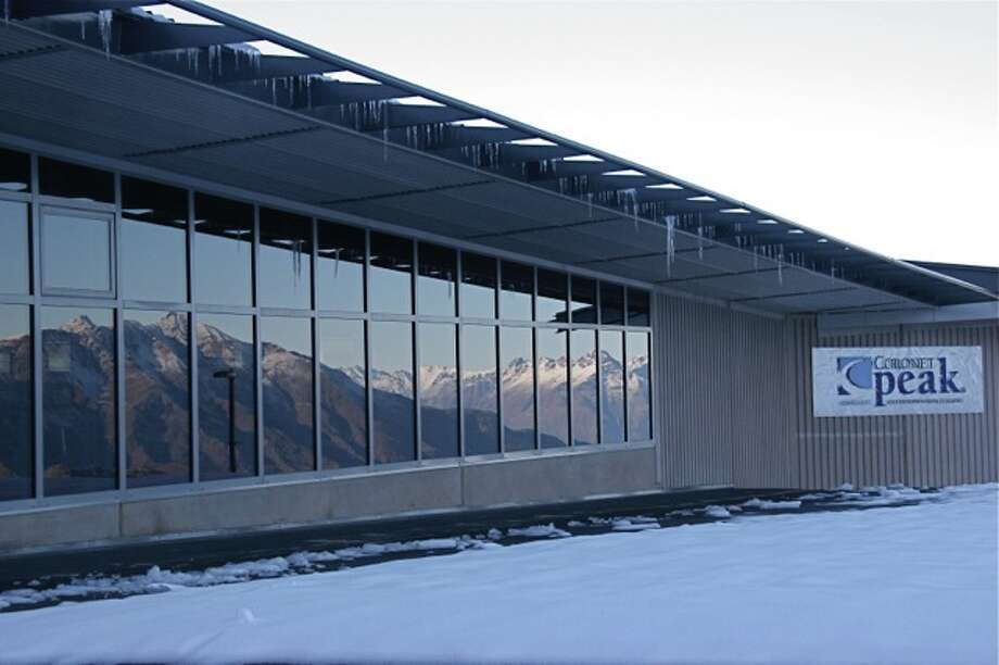 The modern lodge at Coronet Peak Photo: Effin Older