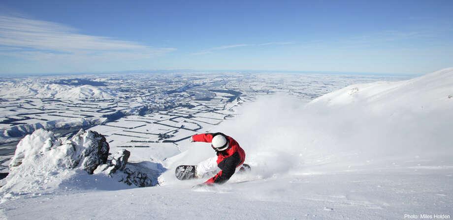 Riding Mt Hutt Photo: Miles Holden