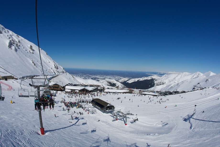 Mt Hutt from the lift