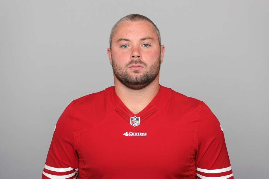 San Francisco 49ers offensive lineman Daniel Kilgore was arrested on January 26 in Kingsport, Tennessee on charges of public intoxication. Kilgore and another man was arrested together after being seen staggering on the sidewalk. Photo: Uncredited, ASSOCIATED PRESS