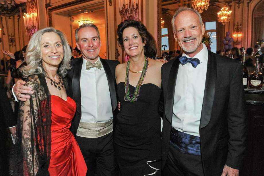 Anna Pope, Patrick Wilken, Jean Kellogg and David Dixon at A Night in New Orleans, a benefit gala for the Merola Opera Program, which took place on April 12, 2014. Photo: Drew Altizer Photography/SFWIRE, Drew Altizer Photography / ©2014 Drew Altizer Photography