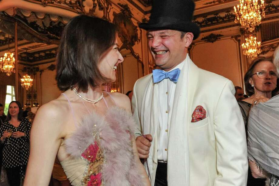 Chandra Rudd and Guillaume Orliac at A Night in New Orleans, a benefit gala for the Merola Opera Program, which took place on April 12, 2014. Photo: Drew Altizer Photography/SFWIRE, Drew Altizer Photography / ©2014 Drew Altizer Photography