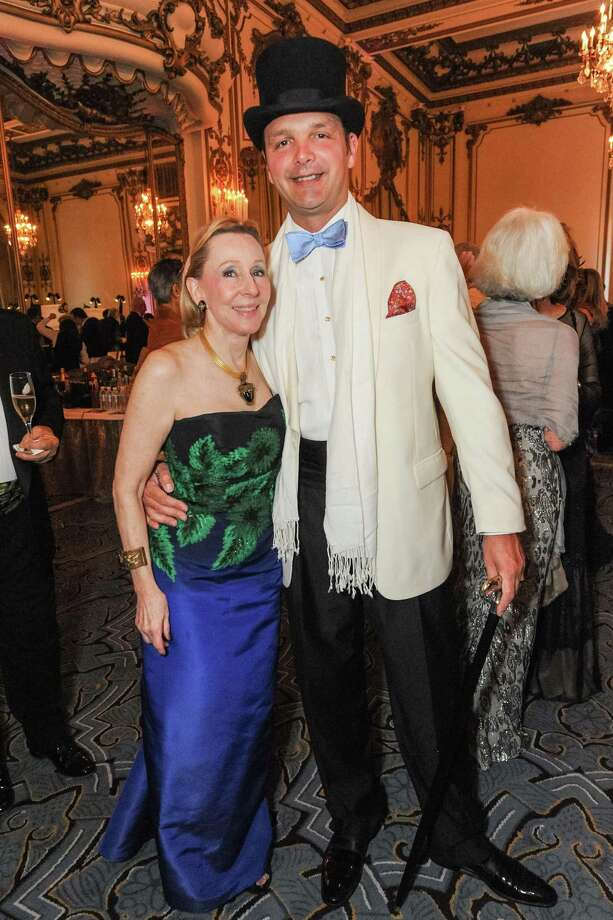Pamela Rigg and Guillaume Orliac at A Night in New Orleans, a benefit gala for the Merola Opera Program, which took place on April 12, 2014. Photo: Drew Altizer Photography/SFWIRE, Drew Altizer Photography / ©2014 Drew Altizer Photography