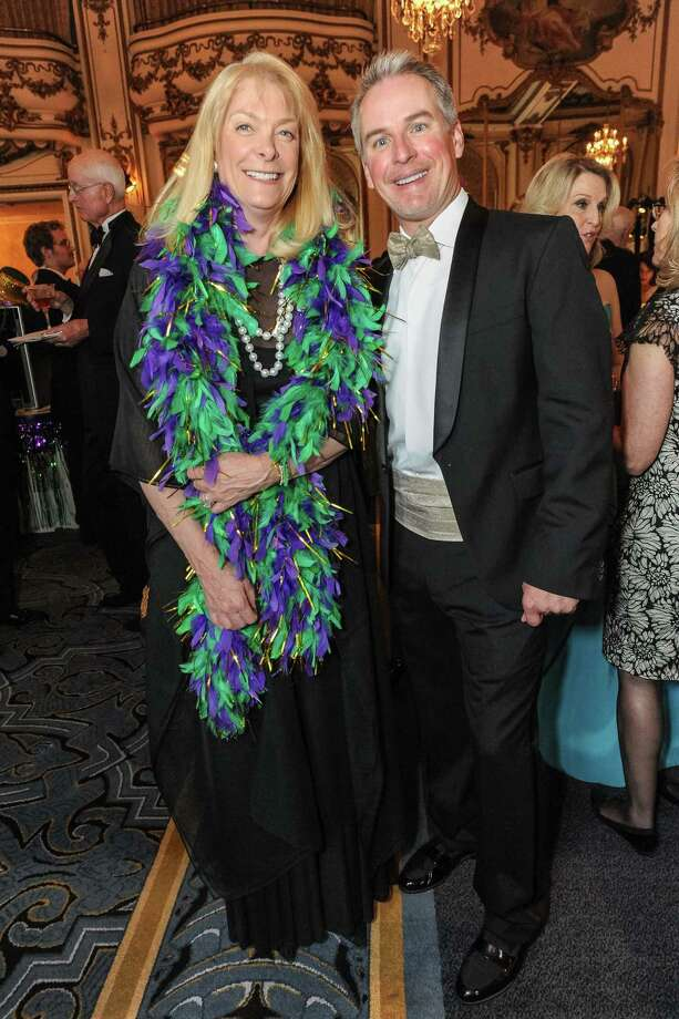 Ginny Freeman and Patrick Wilken at A Night in New Orleans, a benefit gala for the Merola Opera Program, which took place on April 12, 2014. Photo: Drew Altizer Photography/SFWIRE, Drew Altizer Photography / ©2014 Drew Altizer Photography