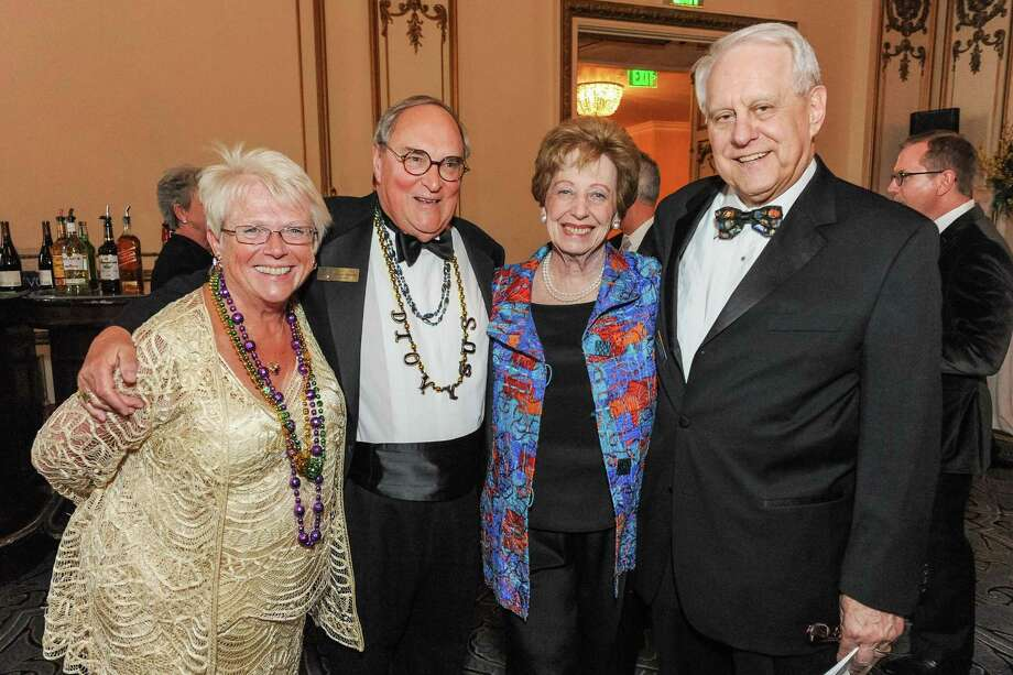 Maureen Hetzel, Melvyn Hetzel, Phyllis Kempner and David Stein at A Night in New Orleans, a benefit gala for the Merola Opera Program, which took place on April 12, 2014. Photo: Drew Altizer Photography/SFWIRE, Drew Altizer Photography / ©2014 Drew Altizer Photography