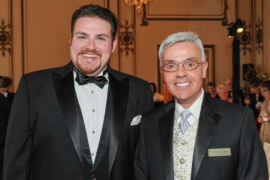 Casey Candebat and Michael Colbruno at A Night in New Orleans, a benefit gala for the Merola Opera Program, which took place on April 12, 2014. Photo: Drew Altizer Photography/SFWIRE, Drew Altizer Photography / ©2014 Drew Altizer Photography