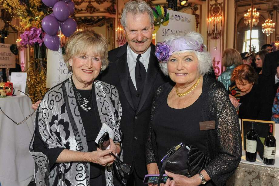 Susie Pollak, Nick Gerson and Sue York at A Night in New Orleans, a benefit gala for the Merola Opera Program, which took place on April 12, 2014. Photo: Drew Altizer Photography/SFWIRE, Drew Altizer Photography / ©2014 Drew Altizer Photography