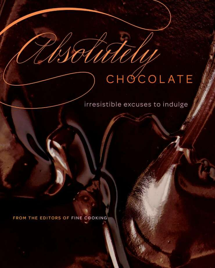 """""""Absolutely Chocolate"""" is a new book from Taunton in Newtown. Compiled by the editors of Fine Cooking magazine, this coffee-table-sized book is a collection of the chocolate recipes collected over the magazine's 15 years in existence. Photo: Contributed Photo / The News-Times Contributed"""