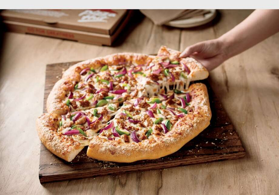 Pizza HutFreebie: A large pizza with bread sticks, cinnamon sticks or chocolate dunkers for $10.99 by using the code TAXDAY for online orders. Photo: Associated Press