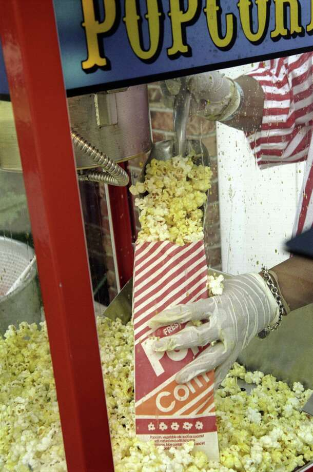 AMC TheatresFreebie: Free small popcorn with this coupon. Photo: Susan Barr, Getty Images / (c) Susan Barr