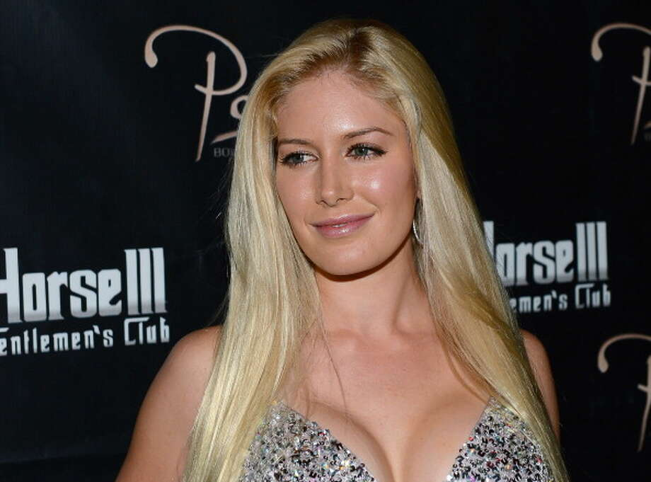 Television personality Heidi Montag arrives at the Crazy Horse III Gentlemen's Club to celebrate Spencer Pratt's 30th birthday on August 31, 2013 in Las Vegas, Nevada.  (Photo by Ethan Miller/Getty Images) Photo: Ethan Miller, Getty Images / 2013 Getty Images