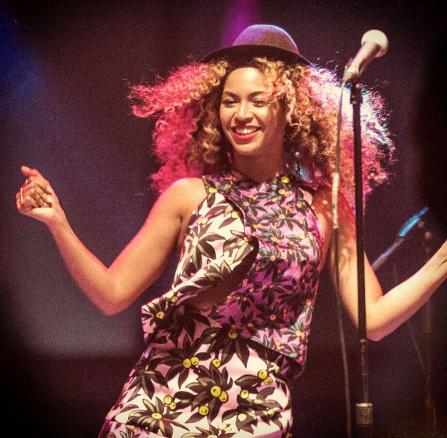 Beyonce performs onstage during day 2 of the 2014 Coachella Valley Music & Arts Festival at the Empire Polo Club on April 12, 2014 in Indio, California.  (Photo by Christopher Polk/Getty Images for Coachella) Photo: Christopher Polk / 2014 Getty Images