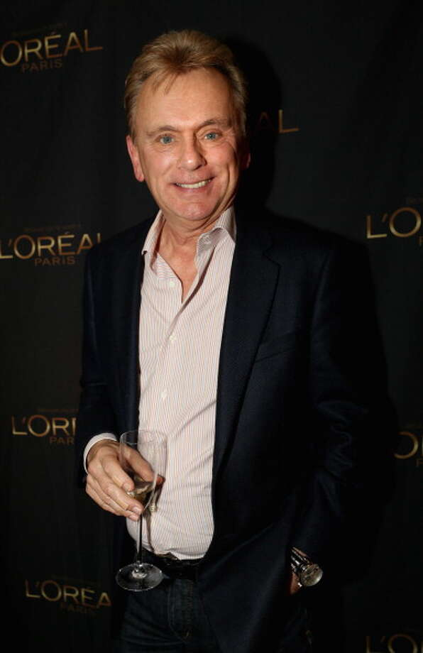 Television host Pat Sajak attends the L'Oreal cocktail party at Four Seasons Hotel Los Angeles at Beverly Hills on January 11, 2013 in Beverly Hills, California.  (Photo by Rachel Murray/WireImage) Photo: Rachel Murray, WireImage / 2013 WireImage