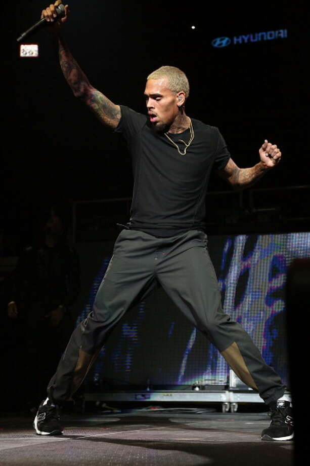 Chris Brown performs at Powerhouse 2013 at the Wells Fargo Center October 25, 2013 in Philadelphia, Pennsylvania.  (Photo by Bill McCay/WireImage) Photo: Bill McCay, WireImage / 2013 Bill McCay