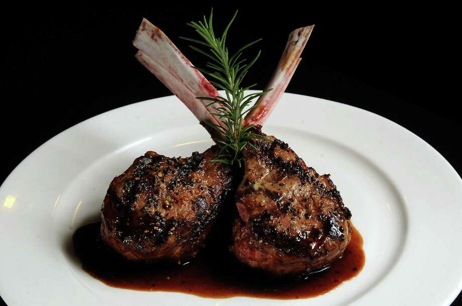 The lamb rack at Mr. Peeples. Photo: Dave Rossman, Freelance / Freelance