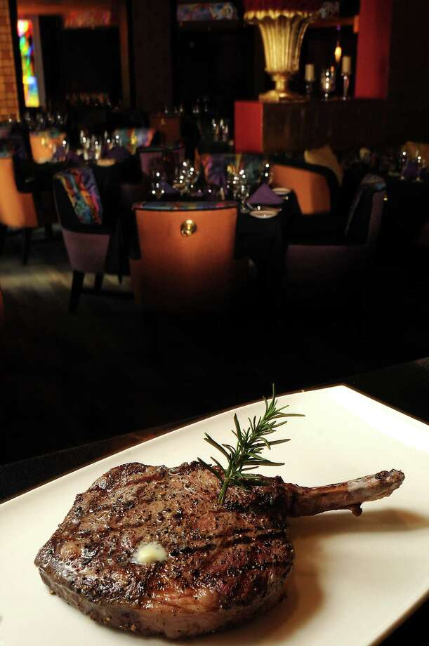 The 20 oz cowboy ribeye at Mr. Peeples. Photo: Dave Rossman, Freelance / Freelance