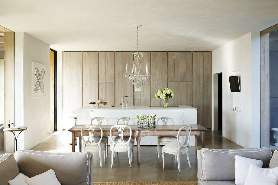 This light and airy farmhouse, with clean lines, modern elements and organic textures, will be featured on the Kitchens in the Vineyards tour in Napa Valley. Photo: Sean Dagen Photography
