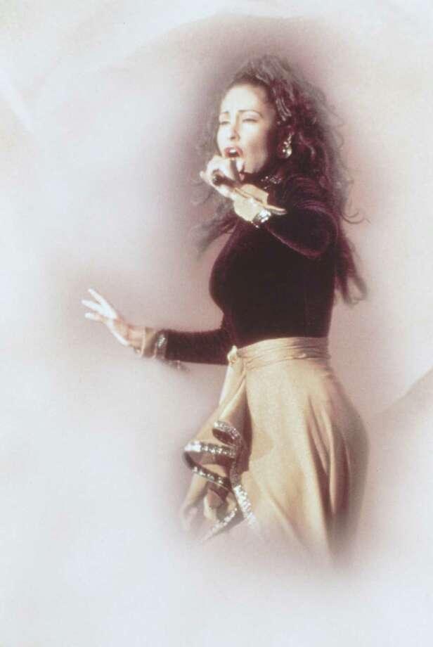 Selena Quintanilla Perez. / handout slide