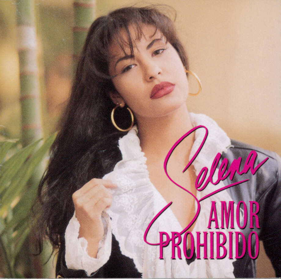 'Amor Prohibido' was the album that made Selena a superstar.  / CD COVER