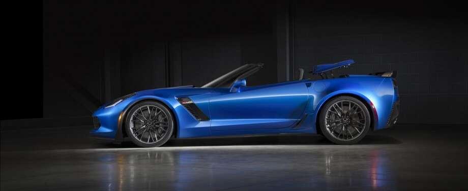 The 2015 Chevrolet Corvette Z06 Convertible Photo: Newspress USA