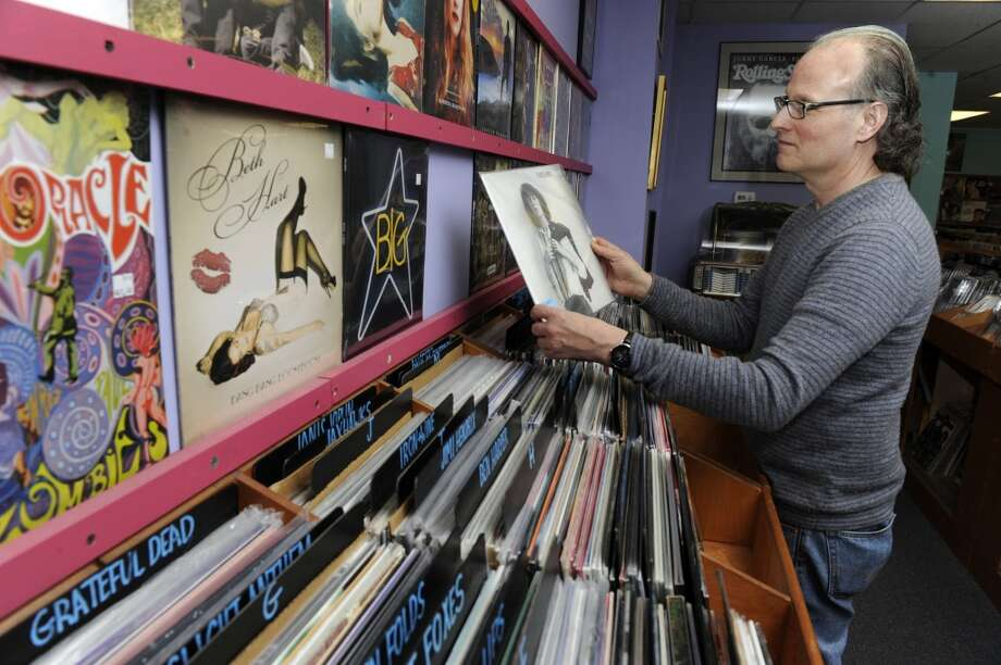 Record Store Day, an annual celebration of bricks-and-mortar music retailers and the continuing vinyl revival, returns on Saturday, April 19. Find out which local record stores are participating.  Photo: Carol Kaliff