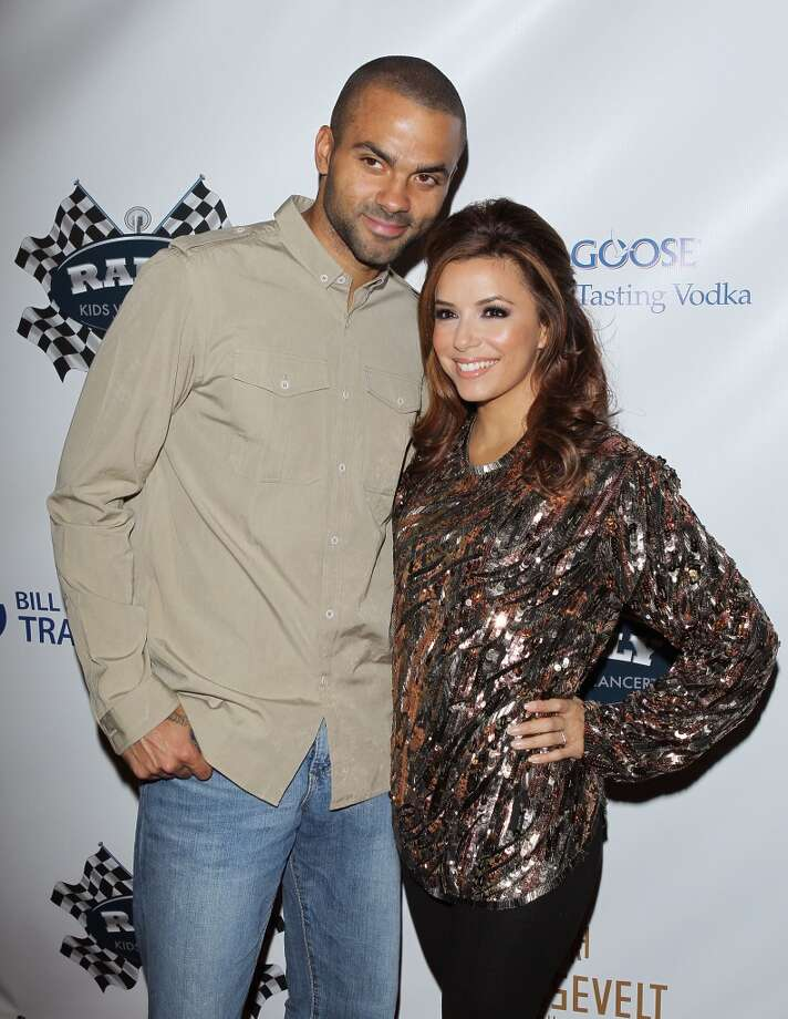 Tony Parker and Eva Longoria were married from 2007-2010. Their marriage was rocked from the beginning by rumors of Parker's infidelity, confirmed in 2010 by Erin Berry, wife of Parker's former teammate Brent Barry, who admitted to a relationship with Parker. Photo: Michael Tran, FilmMagic