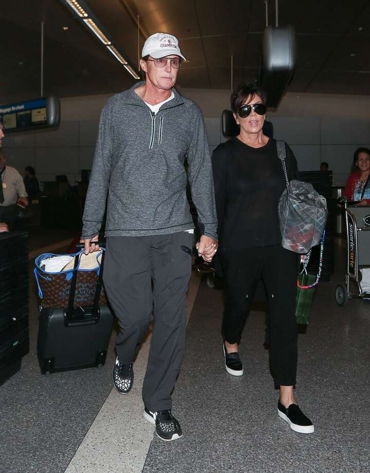 Kris Jenner (seen here with husband Bruce) confessed to cheating on then-husband Robert Kardashian with soccer player Todd Waterman in the 1990's. Photo: GVK/Bauer-Griffin, GC Images