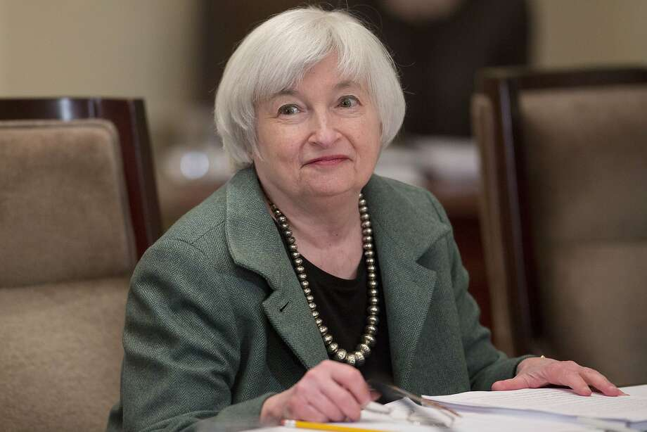 Federal Reserve Chair Janet Yellen tries to cut risk. Photo: Andrew Harrer, Bloomberg