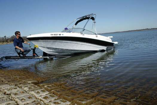 Lake LewisvilleConservation storage capacity (in acre-feet): 563,228Conservation storage at the end of March (in acre-feet): 370,310 Photo: David Woo, McClatchy-Tribune News Service / Dallas Morning News