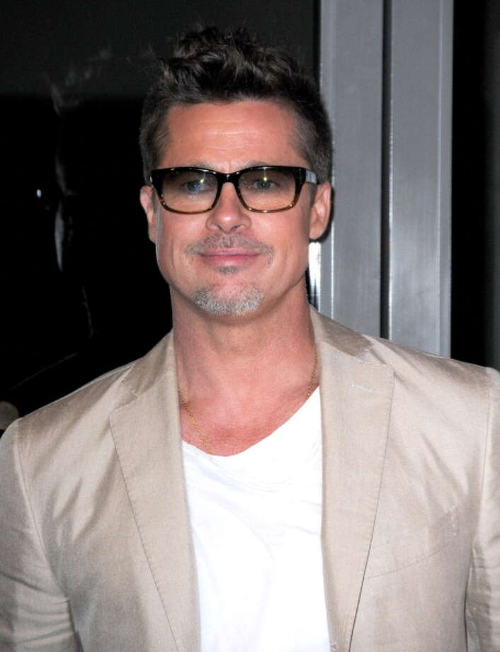 Actor Brad Pitt attends the Los Angeles Screening 'Big Men' on March 26, 2014 at Sundance Sunset Cinema in Los Angeles, California.  (Photo by Barry King/FilmMagic) Photo: Barry King, FilmMagic / 2014 Barry King