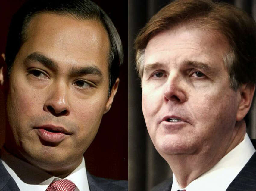 San Antonio Mayor Julián Castro and state Sen. Dan Patrick will face off in a discussion on immigration policy Tuesday night in the Alamo City as a result of months of back-and-forth on social media. Click ahead to see a preview of the debate in six simple sentences.Watch the live stream and social media coverage, starting at 5:30 p.m.