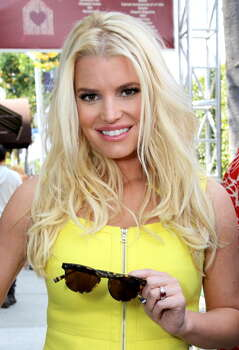 Jessica SimpsonBirthplace: Albilene, TexasClaim to fame: Singer, TV personalityCelebrity endorsement: You've seen this Texas beauty on Proactiv commercials, and hocking Weight Watchers after the birth of her second child earlier this year. She also has a line of hair extensions with HAIRuWEAR. Photo: Rachel Murray, Getty Images For John Varvatos / 2014 Getty Images