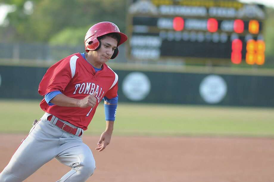 Josh Covey has been solid at the plate and on the basepaths for Tomball this season. Photo: Â Tony Bullard 2014, Freelance Photographer / © Tony Bullard & the Houston Chronicle