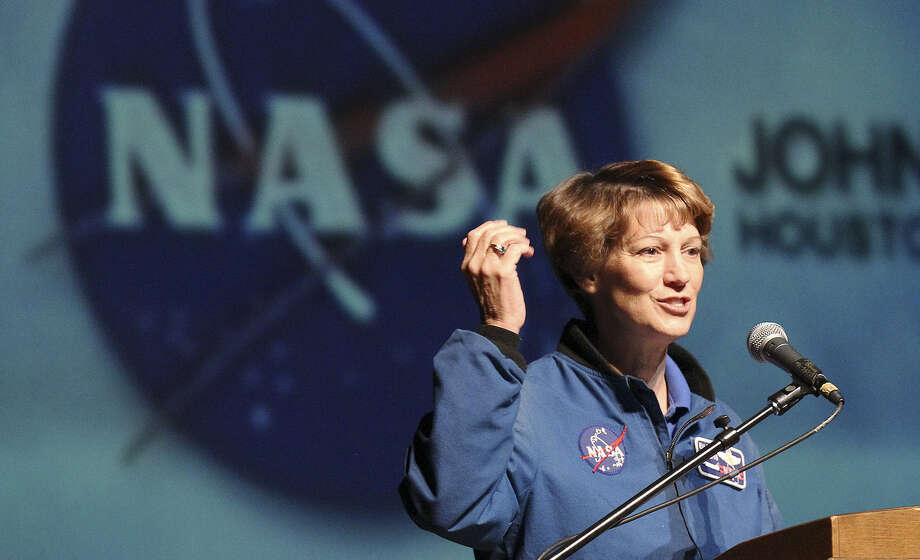 Retired NASA astronaut Eileen Collins, now a resident of San Antonio, flew on four space shuttle missions and was the first female commander of a shuttle mission in July 1999. Photo: Express-News File Photo / © 2013 San Antonio Express-News