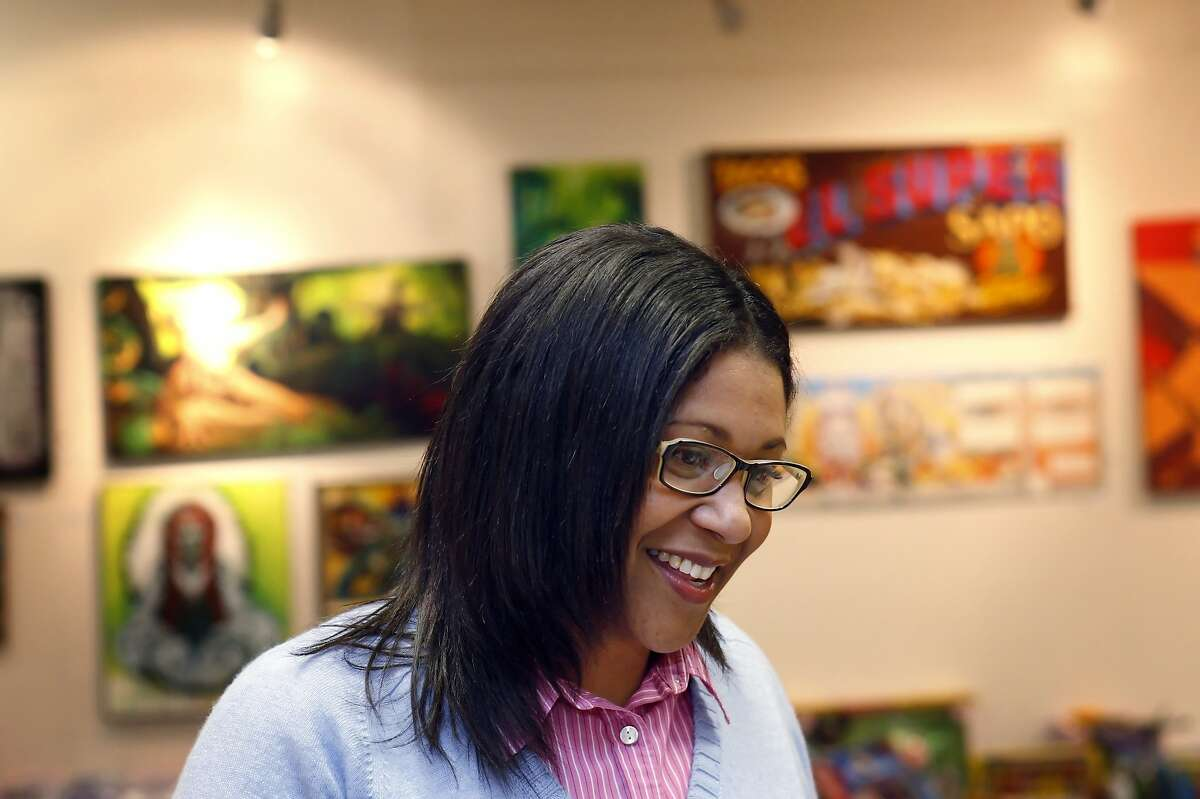 Supervisor London Breed, seen here in 2012 at the African American Art & Culture Complex in San Francisco, Calif.