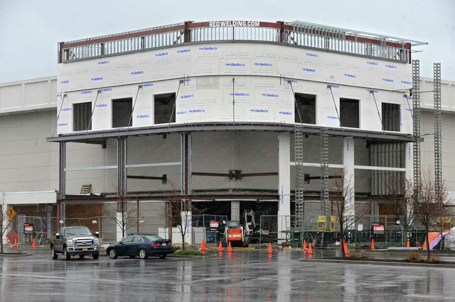 Construction continues on the Whole Foods Market in Colonie Center near Sears on Tuesday, April 15, 2014 in Colonie, N.Y. (Lori Van Buren / Times Union) Photo: Lori Van Buren