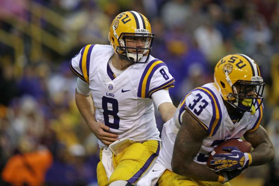Third round, No. 77 overall: Zach Mettenberger, LSU Mettenberger is an old scout's dream: huge arm, great size (6-5, 224 pounds), and he made vast improvements last year under offensive coordinator Cam Cameron. Mettenberger averaged over 16 yards a completion. However, he's relatively immobile and is coming off an ACL injury. Photo: Gerald Herbert, Associated Press