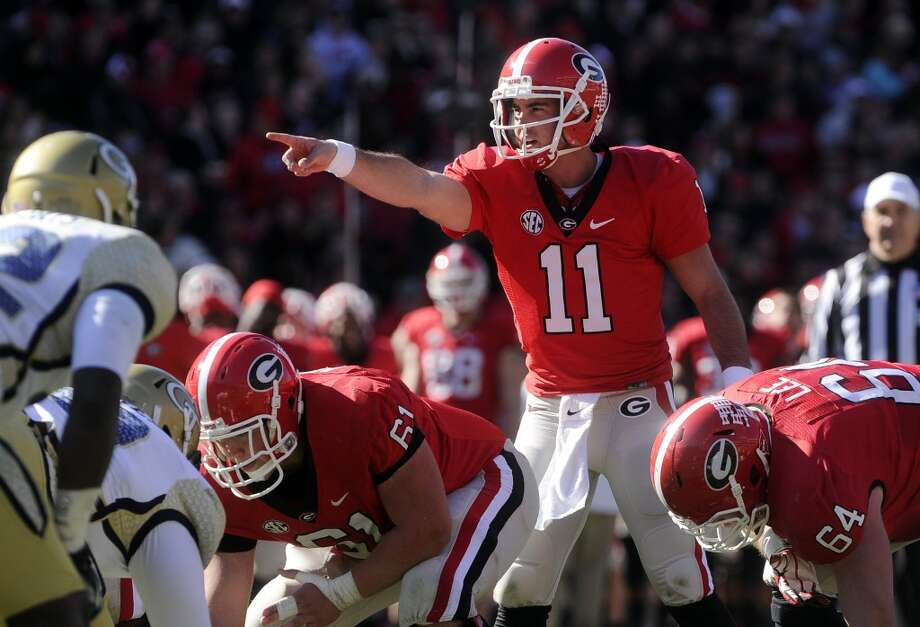 Third round, No. 100 overall: Aaron Murray, Georgia Another quarterback recovering from an ACL injury, Murray makes up for his lack of physical skills with his smarts and intangibles. A terrific player in the clutch, Murray will nevertheless have to improve upon his arm strength and mobility. Photo: John Amis, Associated Press