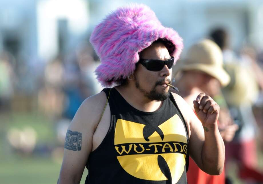 Fuzzy things Fuzzy hats used to be the most obvious choice. Photo: JOE KLAMAR, AFP/Getty Images
