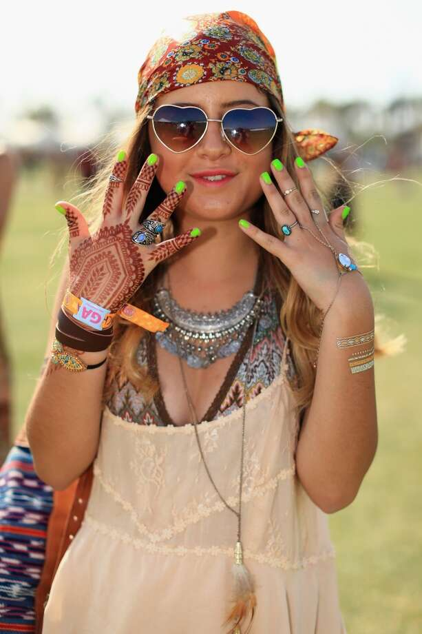 If you don't want to forget your festival experience right away (not recommended) you could try a henna tattoo. Photo: Christopher Polk