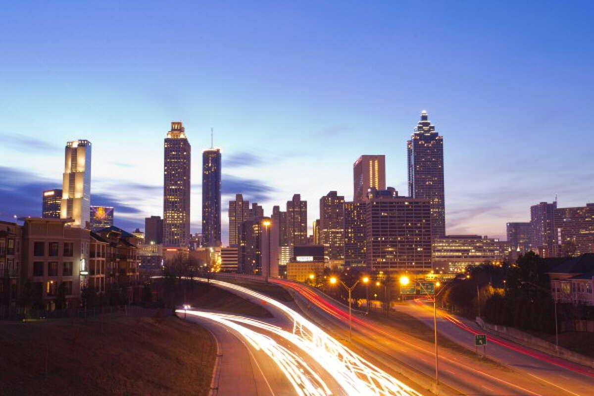 25. Atlanta People ages 25-34: 14 percent Median rent: $937 Median income: $29,863 Best neighborhood for millennials: Ardmore