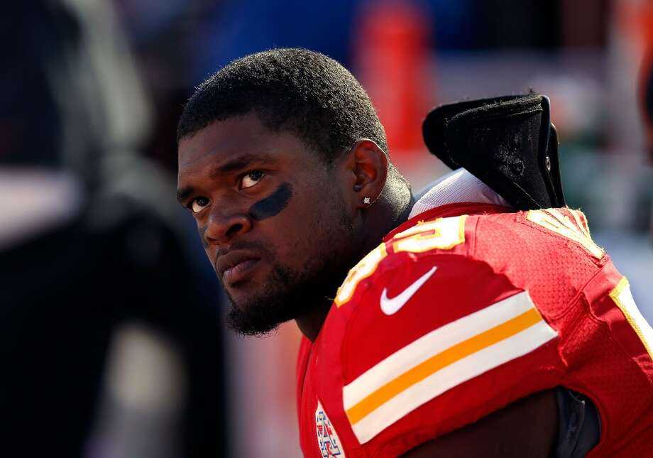 Kansas City Chiefs: 5 arrestsIn one of the more tragic incidents in NFL history, Chiefs linebacker Jovan Belcher (pictured) killed his girlfriend by shooting her 10 times, then drove to the Kansas City team facility and shot himself in the head. Technically it wasn't an arrest, but a murder-suicide can't be overlooked. Photo: Jamie Squire, Getty Images