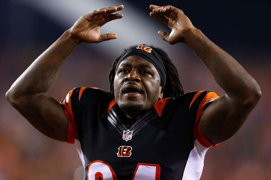 "Cincinnati Bengals: 13 arrests  Cornerback Adam ""Pacman"" Jones (pictured) was arrested twice in 2013. First he allegedly punched a woman outside a Cincinnati bar on June 5. Then, in September, he was cited for disorderly conduct as a passenger in a car whose driver was charged with drunken driving. It was Jones' ninth run-in with the law since 2005. Photo: Kirk Irwin, Getty Images"