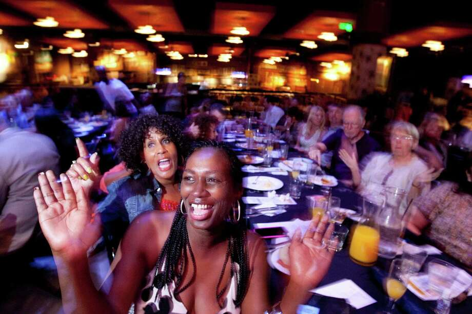 Tiffany Brown and Friends gospel band performed at a House of Blues Gospel Brunch last year. The restaurant/music venue holds a number of the nondenominational celebrations throughout the year. Photo: Johnny Hanson, Staff / © 2013  Houston Chronicle