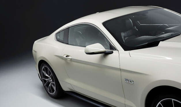 The 2015 50th Anniversary Ford Mustang. Photo: Ford Motor Company