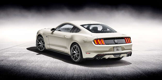 The 2015 50th Anniversary Ford Mustan