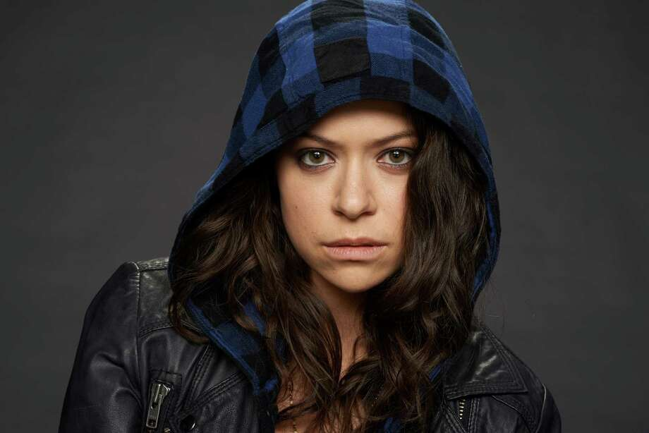 "Tatiana Maslany as Sarah in  Season 2 of ""Orphan Black."" Photo: Steve Wilkie"