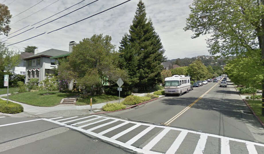 A 16-year-old girl was found naked and pepper-sprayed in Berkeley early Wednesday at the corner of Ashby and Piedmont Ave. in Berkeley. Photo: Google Maps